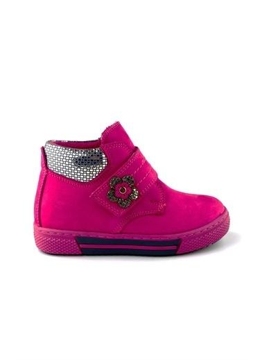 Cici Bebe Ayakkabı Deri Kız Çocuk Bot Fuşya